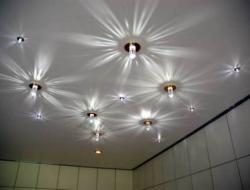 Размещение светильников и расчет освещений