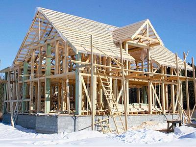 Какие бывают конструкции деревянных домов