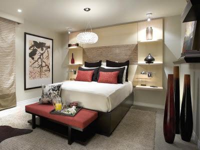 Как организовать практичный интерьер для спальни