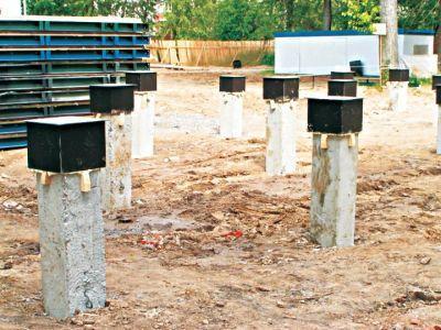 Назначение строительных свай и их виды