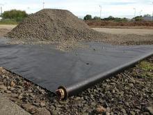 Геотекстиль в строительстве железных дорог