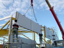 Монтаж железобетонных конструкций