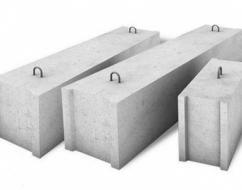 Фундаментные блоки в гражданском строительстве
