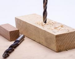 Сверла, сверление древесины
