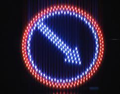 Преимущества светодиодных знаков